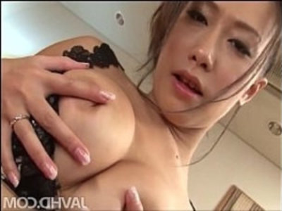 Yayoi Yanagida in a lacey bra plays with her big tits for her fuck buddy driving | asian girls  big tits  japanese girls  lingerie  milf  oriental girls  solo  vibrator