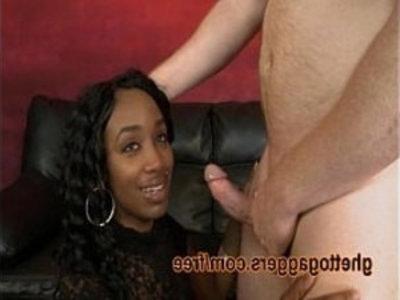 Black Stripper Goes Down White Dicks   3some  black  blowjob  brutal  dick  ebony  extreme  hardcore  interracial  oral sex