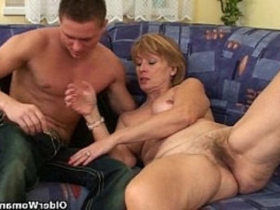 Nothing better that shooting your cum on moms body   cumshots  gilf  grandma  mature  old and young  son and mom  sperm