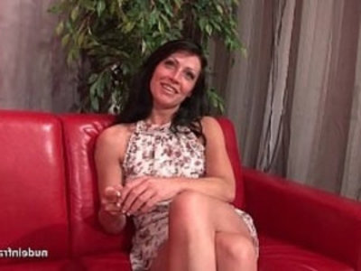 Sublime busty milf anal fucked and cum to mouth for her casting | amateur   anal   ass   big tits   boobs   busty   casting   european girls   french girls   milf