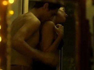 Hot kiss from web series Hello Mini | girl on girl  lesbians  webcams