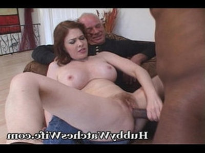 Hubby Clearly Loves The Show | hubby  tits