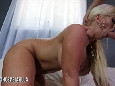 Big tit cougar Alura Jenson loves fucking younger men | big booty   blowjob   cougars   cum on tits   cumshots   deepthroat   handjob   hardcore   huge boobs   milf