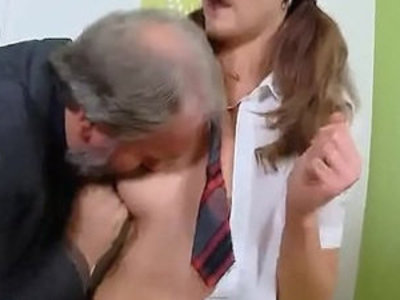 Pretty cam girl gets teased and pounded by her older teacher | college  girls  horny girls  old and young  pounding  pretty girls  teacher  teasing