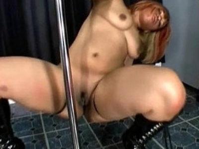 Stripper Alizay Shakes Her Big Ass | big booty  striptease
