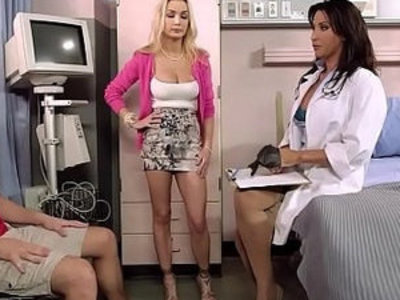 Stepmom Devon Brings Her Stepson to Doctor Lezley Zen For a Special Treatment | doctor  son and mom  stepmom  stepson