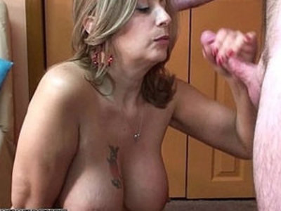 Mature swinger Sandie Marquez is swallowing a stiff cock | cock  mature  swallow  swingers  white girls