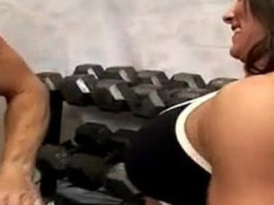 Fitness MILF Kristine Madison Threesome | 3some   milf   muscle