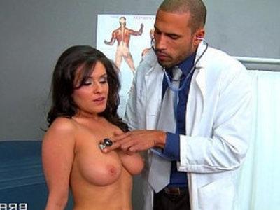 Big natural tit sex addict Charley Chase rides cock | cock  doctor  natural tits  riding cock  tits