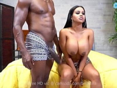 Camsoda - Brickzilla and Big Tits Latina Mary Jane | big tits  latin girls