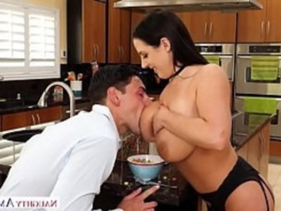 Aussie Angela Whites big tits get milky Naughty Ameirca | big tits  boobs  natural tits  naughty girls  pornstars  tits