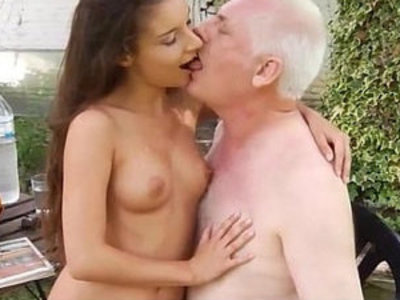 Little pervert seduce and fuck old man | old and young   old man   perverts   seduction   young