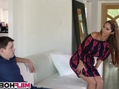 Becoming A Man With Stunning MILF | 3some   cougars   milf   mommy   mother   old and young   son and mom   stepdaughter   stepmom   stepson