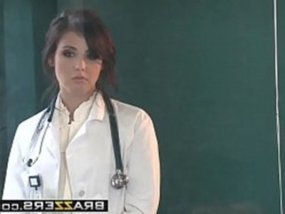 Doctor Adventures Sexy Doctor Fucks Patient scene starring Brooke Lee Adams and Danny | ass  boobs  doctor  milf  mother  office  pounding  school girls  sexy girls  son and mom