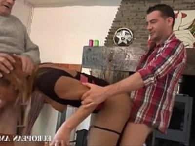 Colombian girl meet boyfriends father   3some  amateur  anal  colombian girls  father  girls  interracial