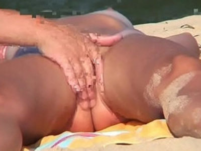 Nudist couples at the beach spycam voyeur | beach   nudity