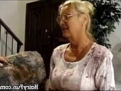 Horny Granny Riding Her Big Son In Law | gilf  glasses  grandma  hardcore  horny girls  mother  riding cock  son and mom