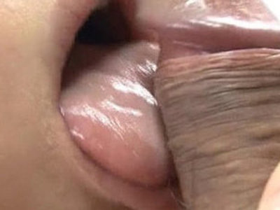 Japanese Honey Yukina Momose Licking and Eating Hairy Balls | hairy pussy  japanese girls  pussy licking  sperm