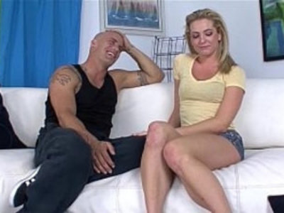 Bailey Blue Getting fucked by Derrick on the couch | blonde   couch   cumshots   facials   hardcore   pornstars   pussy