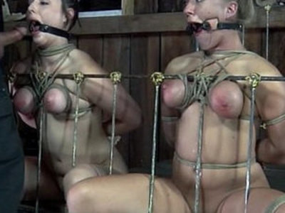 Tiedup subs punished with sex toys | punishment  sex toys
