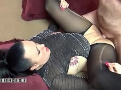 Tattooed MILF Selena Sky takes dick in her plump twat | amateur   blowjob   couple   cumshots   dick   hardcore   homemade   housewife   milf   mommy