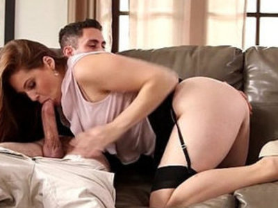 Bigtits horny housewife sucks on morning glory | big tits  cock sucking  gloryhole  horny girls  housewife