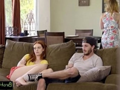 Bratty Sis Watching TV and Caught Fucking My Step Sister | caught   cute petite   doggy   facials   redhead   sister   skinny   stepbrother   stepfamily   stepsister