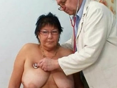 Busty woman gyn clinic exam | busty  doctor  girls  woman