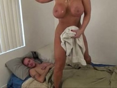Hot Mom help Son Alura Jenson | ass  big booty  boobs  butt  jerking  milf  sleeping  son and mom  stepfamily  young