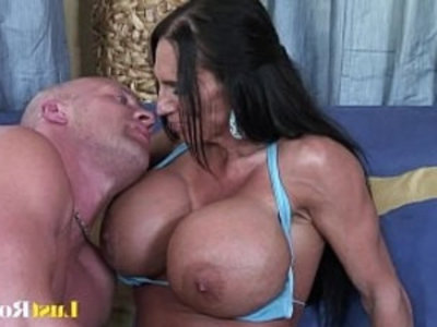 Extremely busty mommy Lisa Lipps loves to bonk | black  busty  extreme  milf  mommy  pornstars  pussy  shaved pussy  tits