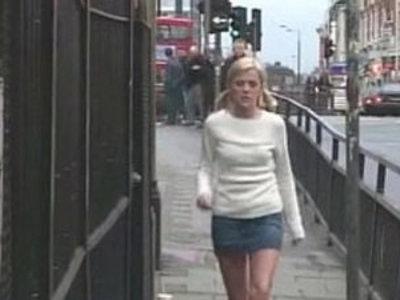 Filthy British Threesome In A Public Toilet | 3some  british girls  public sex  toilet