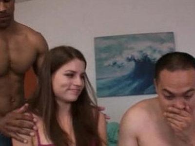 cuckold interracial orgy wife big cock by sluty milf slut | cuckold  huge cocks  humiliation  interracial  milf  orgy party  sluts  wife