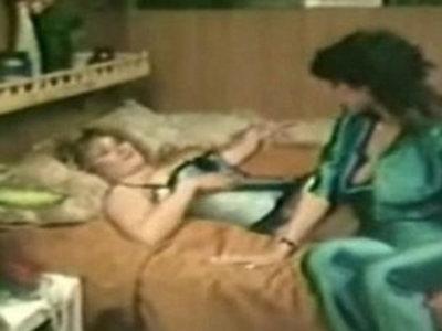 Hot Vintage Lesbians Milking Each Other | lesbians  vintage