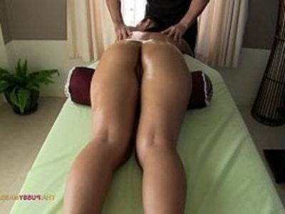 Smooth silky Thai skin massaged by pervert masseur | asian girls  creampies  massage  perverts  public sex  thai girls