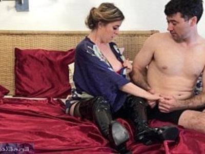 Stepmom fucks stepson after husband dies Erin Electra | amateur  blonde  busty  cum on face  curvy girls  facials  family taboo  homemade  husband  milf