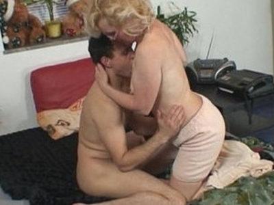 Naughty grandma gives up her pussy | gilf  grandma  naughty girls  pussy