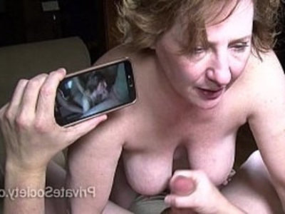 Sex At 50 starring Aunt Kathy | amateur   aunty   couch   dirty   husband   mature   redhead   wife