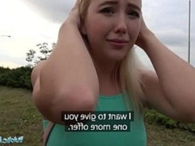 Public Agent American Cutie Fucks Cock Outdoors | agent  amateur  american girls  blonde  cock  outdoor  pov  public sex