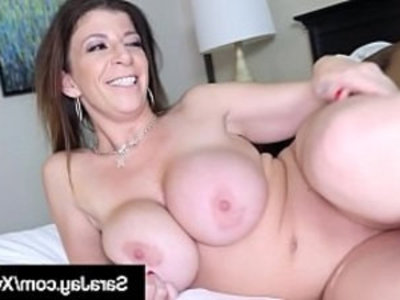 Horny Cougar Sara Jay Bangs Big Black hard Cock to Ride Share! | banged   big booty   black cock   blowjob   busty   cougars   cumshots   curvy girls   hardcore   horny girls