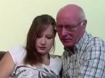 German 18yr old Teeny Seduce to Fuck by old Grandpa   german girls  grandpa  old and young  seduction  young
