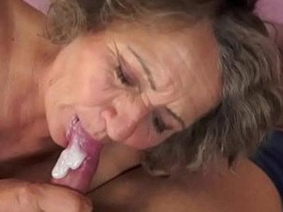Hairy grandma fucked missionary   gilf  grandma  hairy pussy