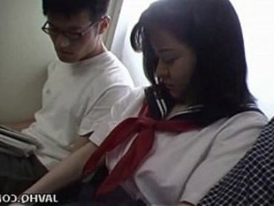 Japanese teen in school uniform has threesome Uncensored | 3some  asian girls  blowjob  japanese girls  public sex  school girls  teens  uncensored  uniform
