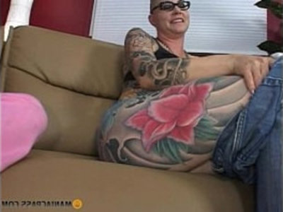 Teeny fucked by tattooed mom | blonde  brunette  emo girls  glasses  lesbians  milf  piercing  shaved pussy  son and mom  tattoo